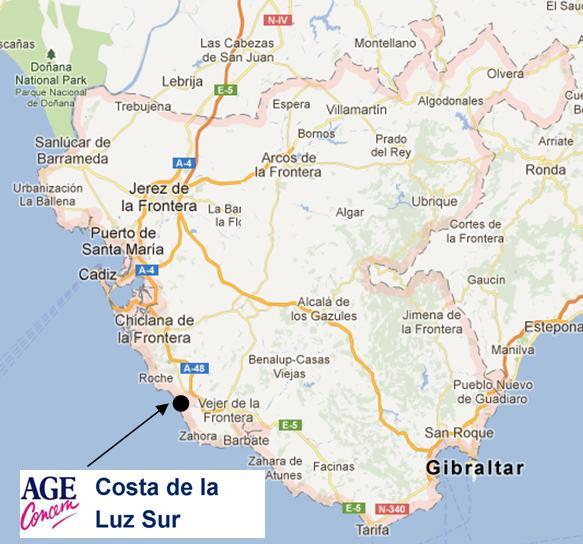 AC Costa de La Luz Sur | Age Concern España