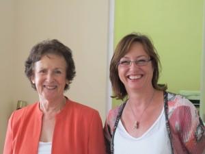 Eileen and Rachel